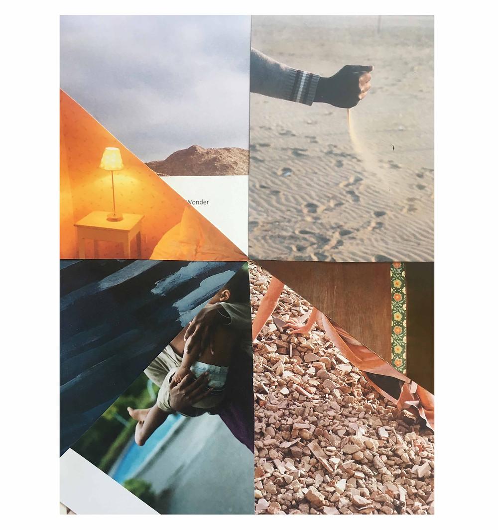 A balance collage