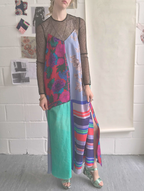 Liz Long Slip Dress / size 12-14