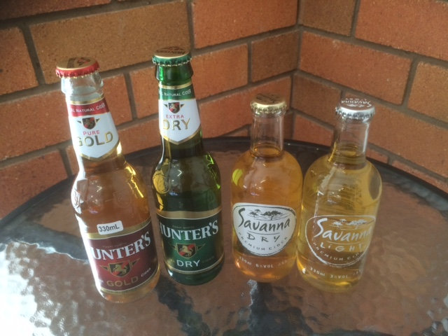 Cider Single Bottles 330/340ml