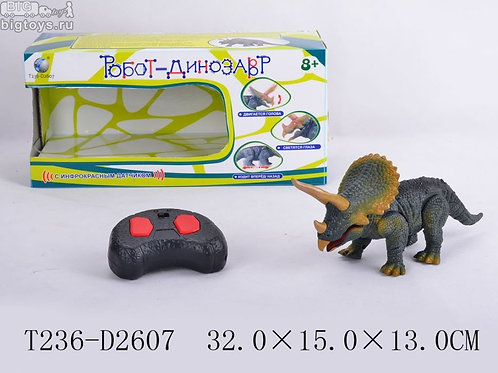 10-875-64 Р/у робот-динозавр с ик датчиком со звуком и свет