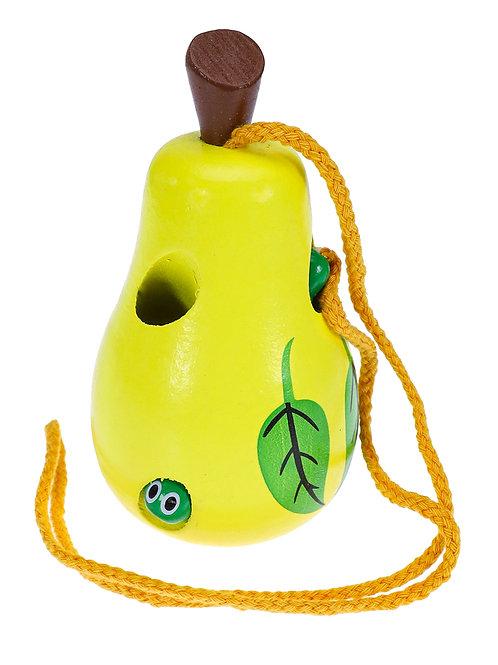 03-789-7 Деревянная игрушка. Шнуровка ГРУША (11х5.5см )