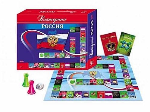 03-466 ВИКТОРИНА.108 карточек. РОССИЯ (РК)