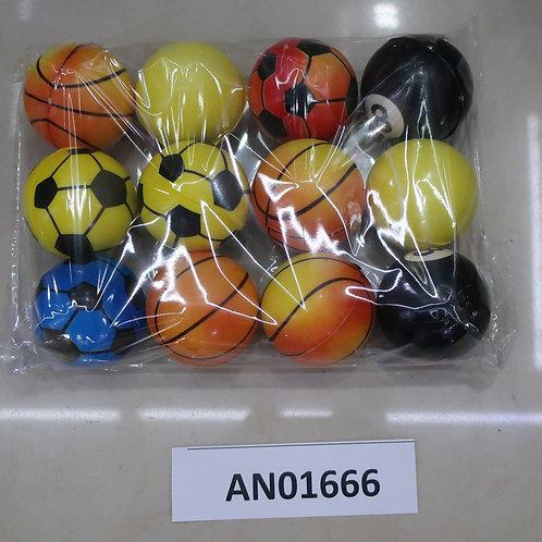 03-015-02 Мяч мягкий ППУ 5 см Баскетбол. футбол. бильярд