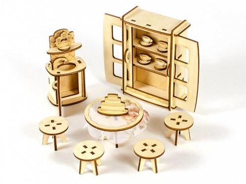 62-994-9 Конструктор Мебель для кукол Кухня-столовая