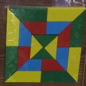 03-075-8 Деревянная игрушка.Головоломка (14.5х14.8)Квадрат