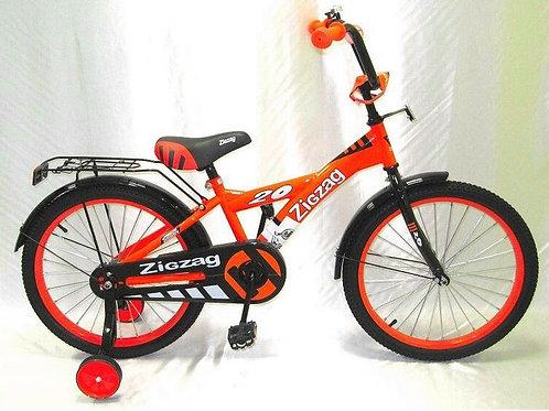 17-121-6 Велосипед детский 16 ZIGZAG SNOKY оранжевый