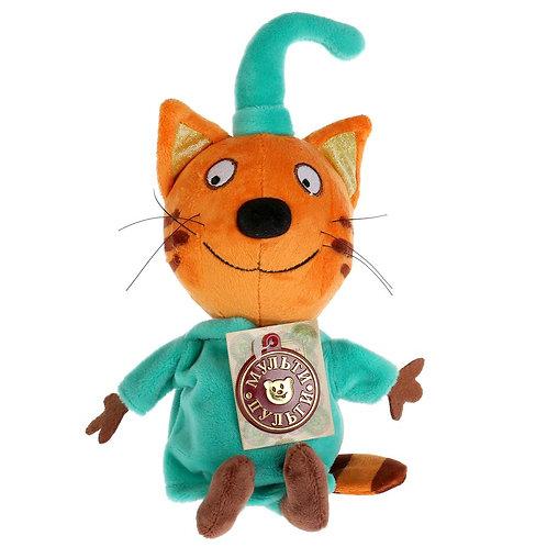 04-285-7 Мяг. игрушка Мульти-Пульти 3 кота.КОМПОТ 16СМ.ОЗВ