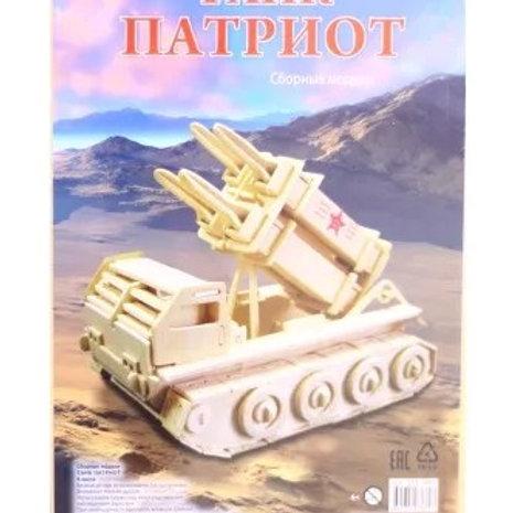 03-137-7 СБОРНЫЕ МОДЕЛИ. 4 BIG. Танк Патриот (РК)