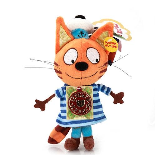 04-285-21 Мягкая игрушка Мульти-Пульти 3 кота. Коржик 14см