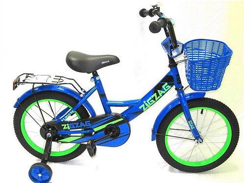 17-121-3 Велосипед детский 16 ZIGZAG CLASSIC синий