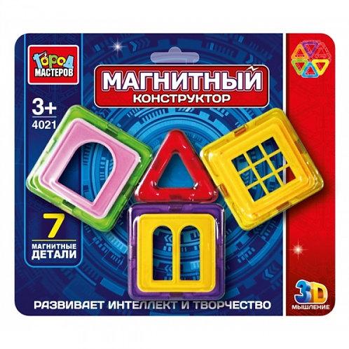 14-293-9 Конструктор магнитный Город мастеров 7 дет.