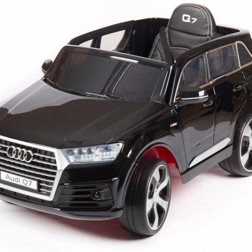 11-197-6 Машина AUDI на аккумуляторе (2*25V. 7AH)черный.кр