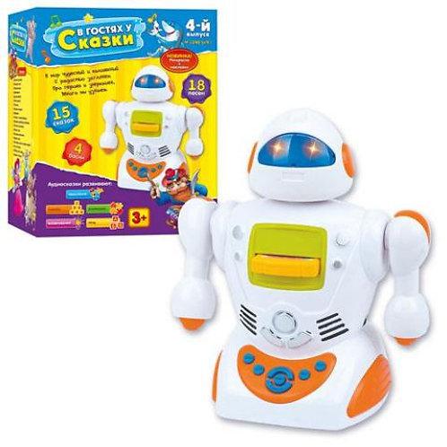 10-564-71 Интерактивный робот «В гостях у сказки» (13 сказок