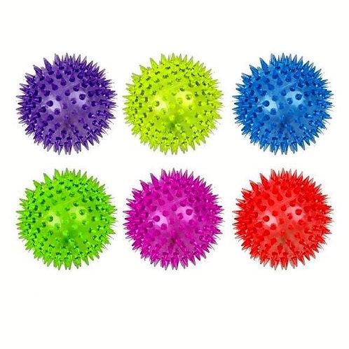 10-978-96 Мяч Прыгун светящийся c писком в ассортименте