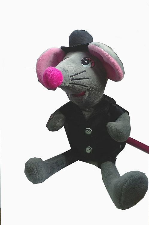 04-357 Мышь танцует.поет песню.Мягкая игрушка