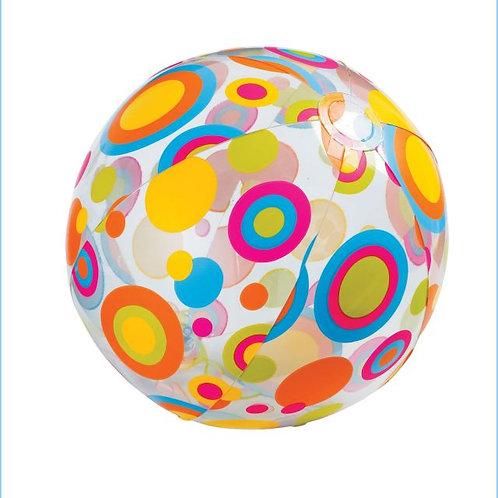 38-030-1 Пляжный мяч 61см. 3 вида.