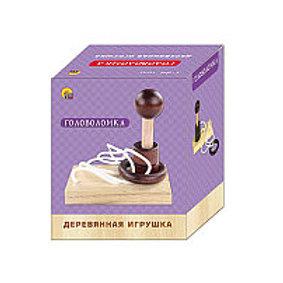 03-786-4 ДЕРЕВЯННАЯ ИГРУШКА ГОЛОВОЛОМКА-13 (РК)