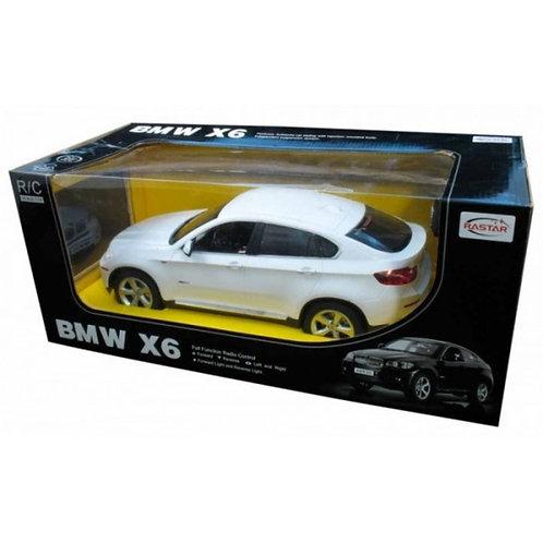 14-548-4 МАШИНА Р/У RASTAR BMW X6 1:14 СО СВЕТОМ. ЦВЕТ В АСС