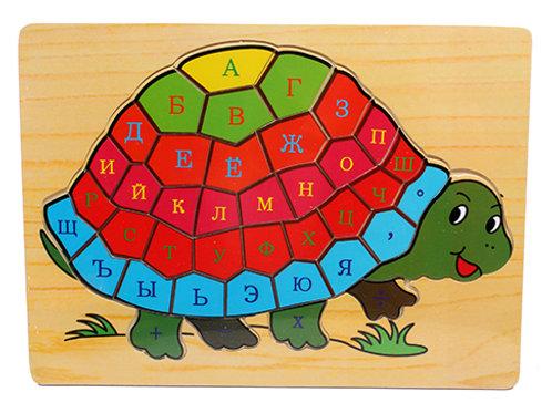03-782-55 Деревянная игрушка.Учим буквы.Алфавит 40 эл.(21.5х
