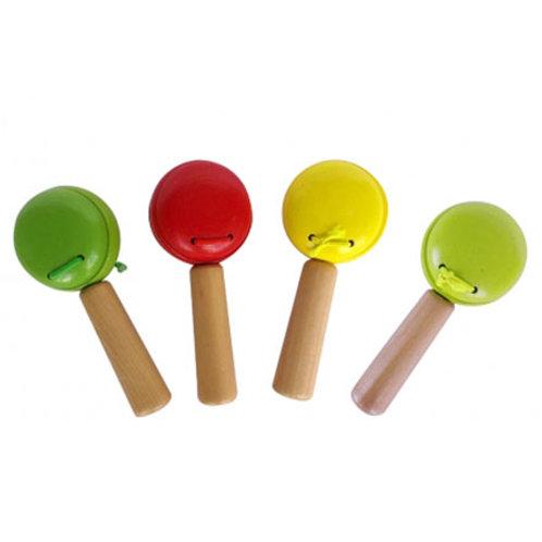 03-784-6 Деревянная игрушка. Маракас ВЕСЕЛЫЕ РИТМЫ (РК)