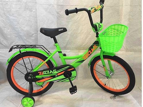17-121-2 Велосипед детский 16 ZIGZAG CLASSIC зеленый