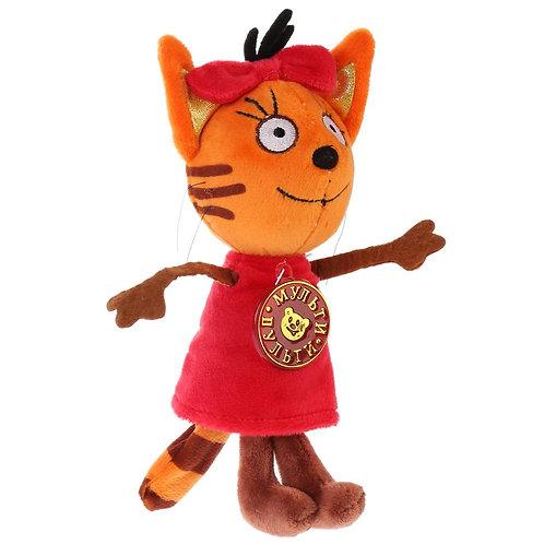 04-285-42 Мяг. игрушка Мульти-Пульти3 кота. Карамелька 13
