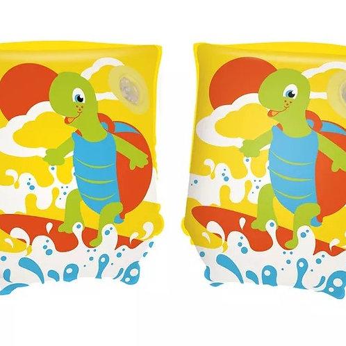 38-015 Нарукавники для плавания Черепашки 23х15 см