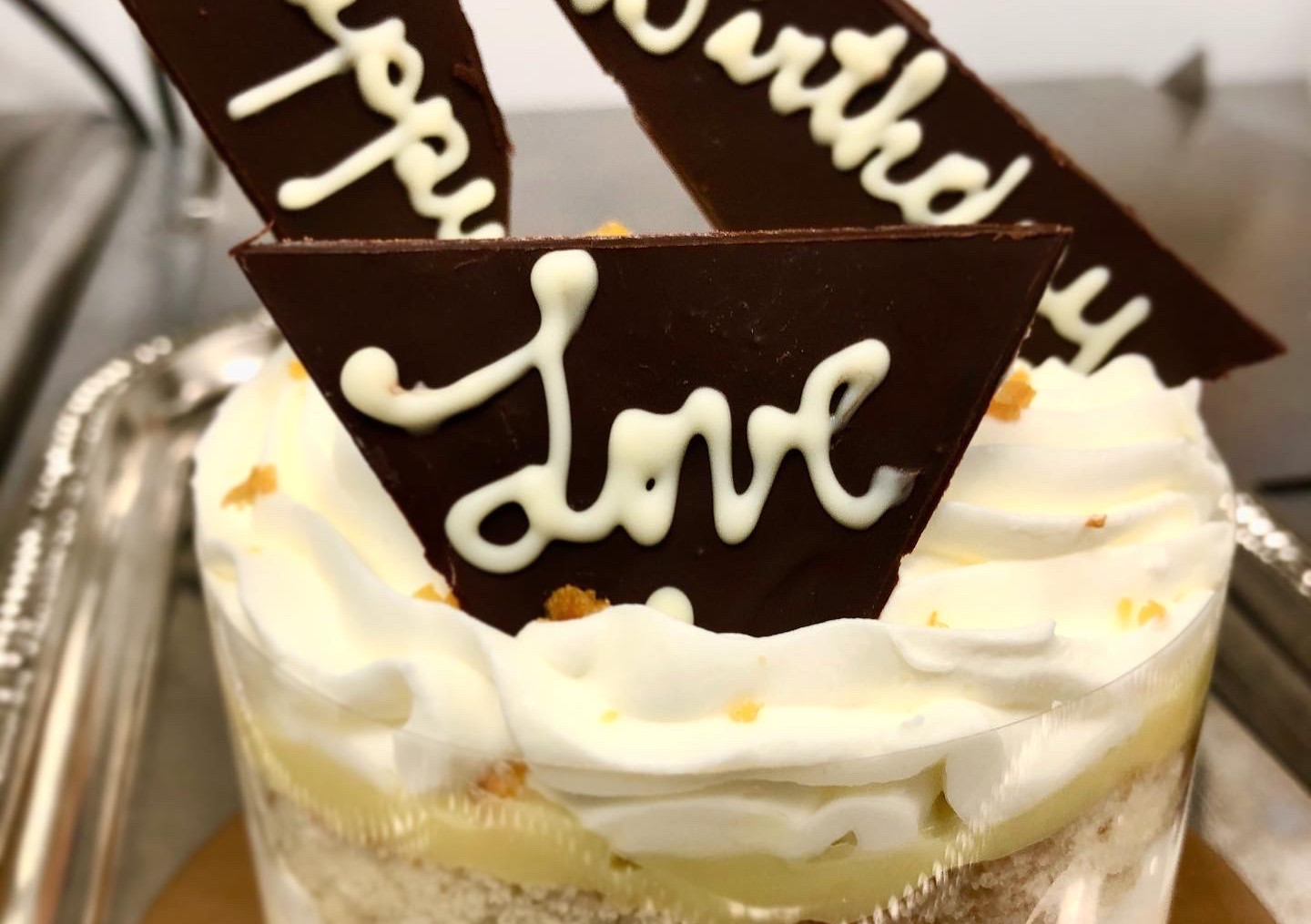 """4"""" Cake Pint, Guinness Bombshell, Chef's Choice with Personalized Message"""
