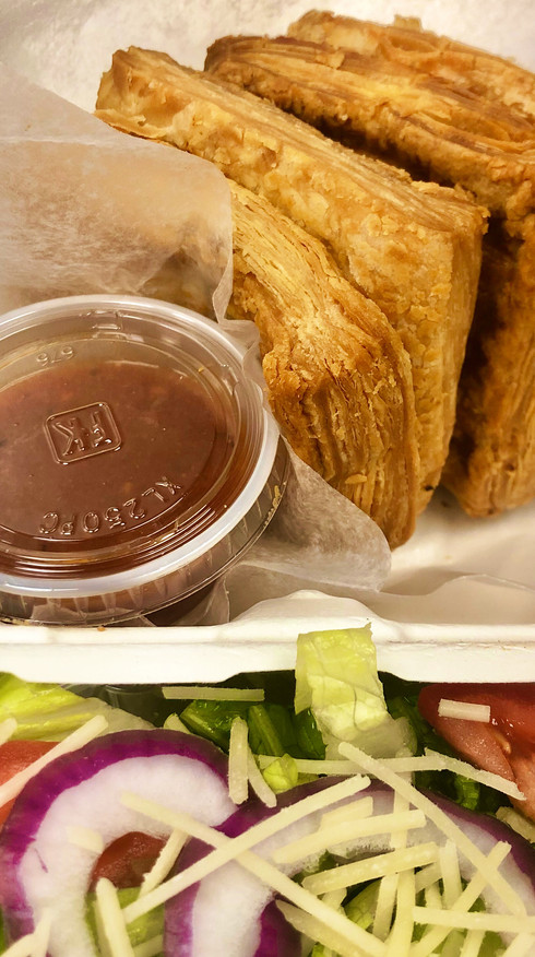 The Savory Pastry Lunchbox with Chef Salad & House Dressing