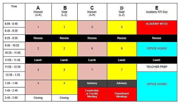 4th Quarter Hybrid Bell Schedule.JPG
