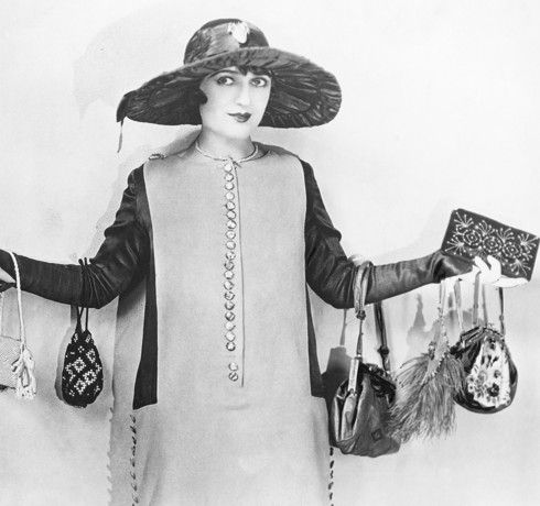 Lady with too many lost property items