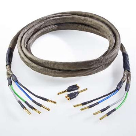 Audio Optimum - Biwiring LS Kabel HS4-BTP250-BA