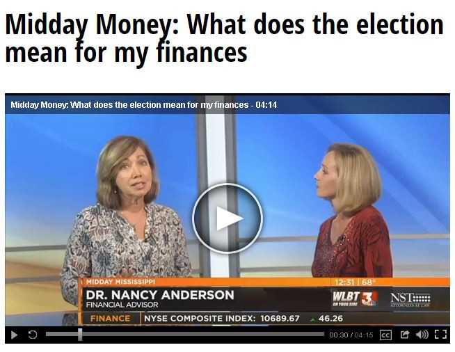 What Does the Election Mean for my Finances?