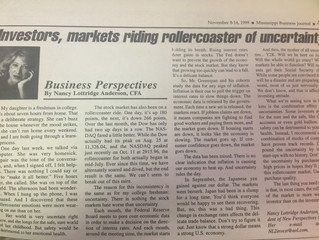 "#TBT ""Investors, markets riding rollercoaster of uncertainty"""
