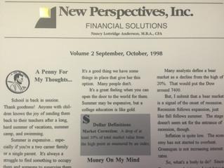 #TBT Fall Newsletter 1998