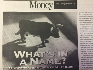 """#TBT """"What's in a Name? Understanding Mutual Funds"""""""