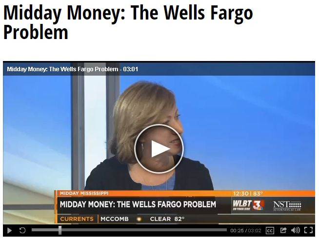 The Wells Fargo Problem