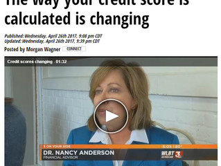 The Way Your Credit Score is Calculated is Changing - Nancy on WLBT