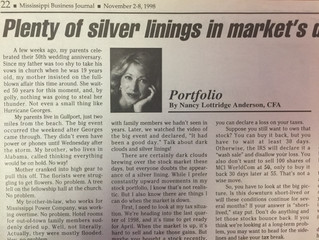 "#TBT ""Plenty of silver linings in market's dark clouds"""