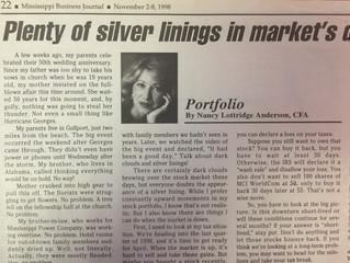 "#TBT ""Plenty of silver linings in market's dark clouds"""
