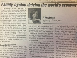 "#TBT ""Family cycles driving the world's economy"""