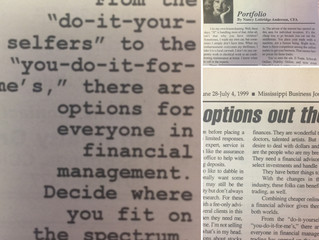 "#TBT ""Plenty of financial management options out there"""