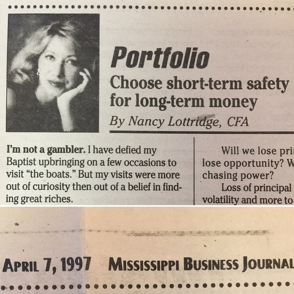 Nancy Anderson Fee Only Financial Adviser