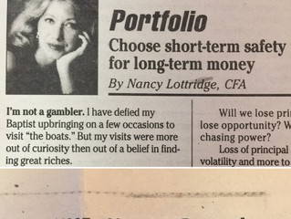 "#TBT ""Choose short-term safety or long-term money"""