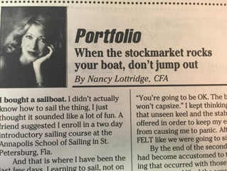 "#TBT ""When the stockmarket rocks your boat, don't jump out"""