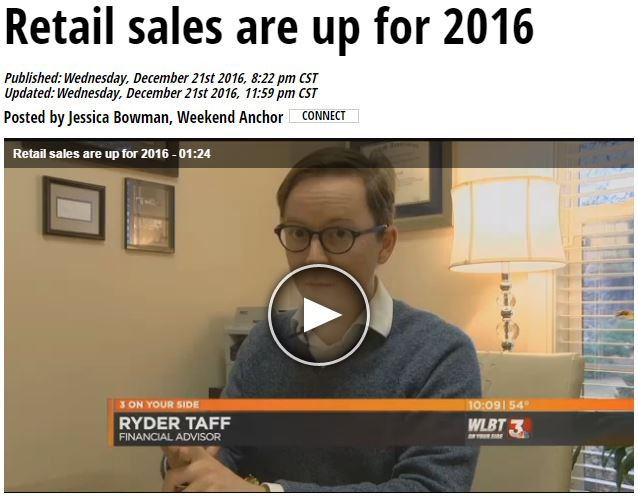 Retail Sales are Up for 2016