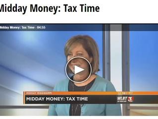 Tax Time - Nancy on WLBT