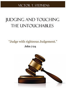 Ebook: Judging and Touching The Untouchables