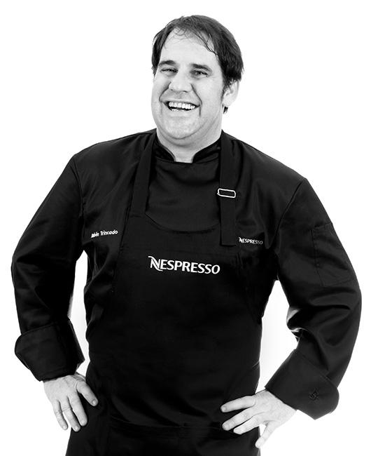 Retrato del chef Rubén Trincado