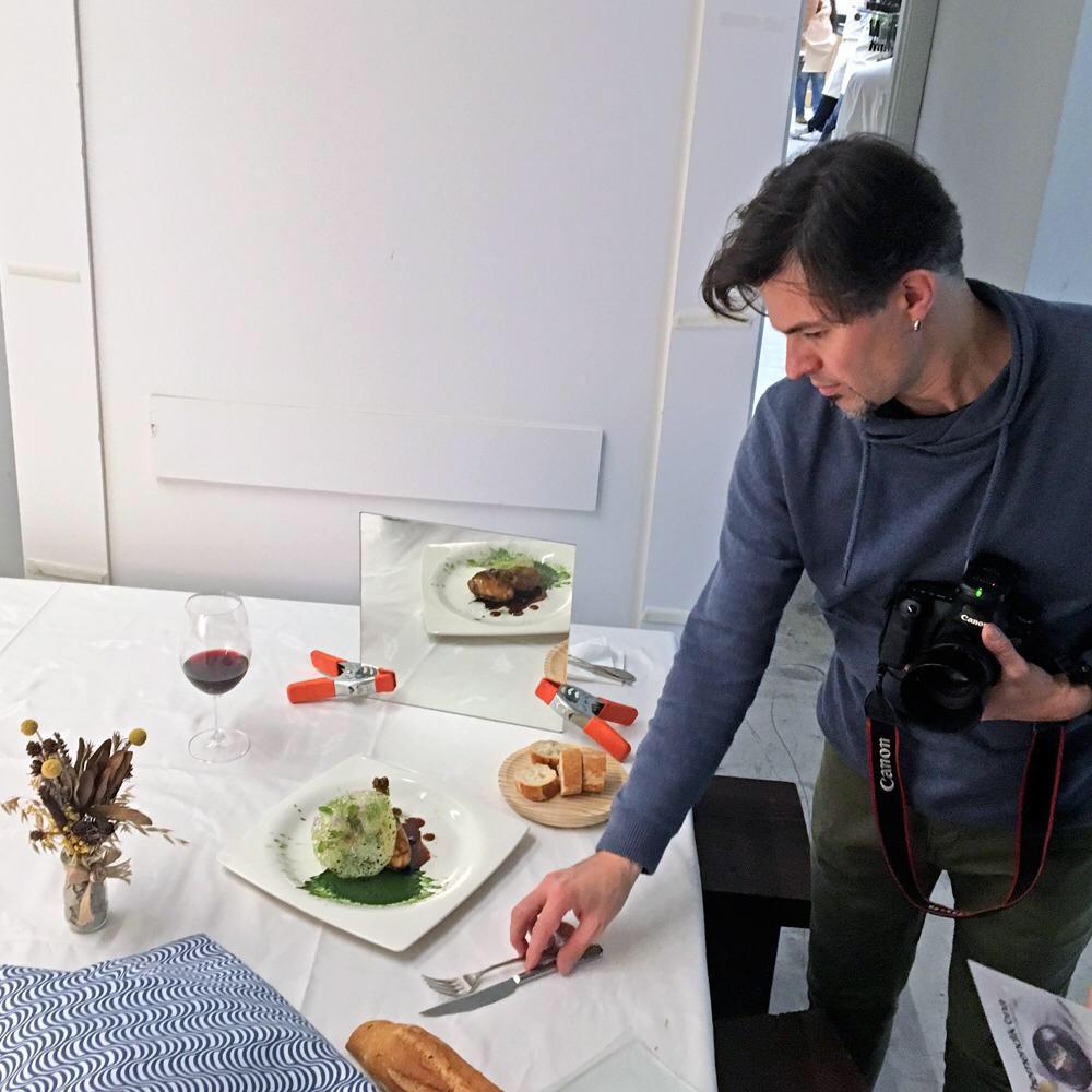 Estilismo culinario y fotografía de gastronomía en Donostia-Iovo Petrov